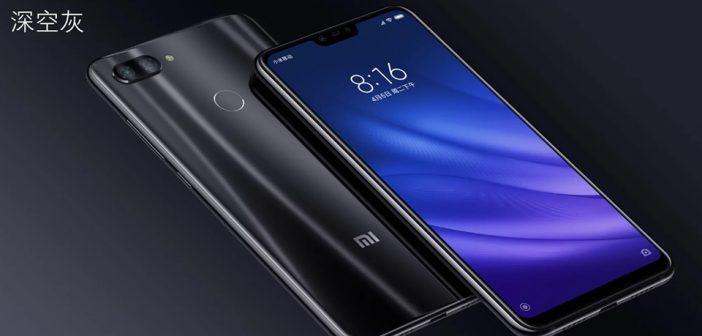 Xiaomi Mi 8 Lite degradado negro