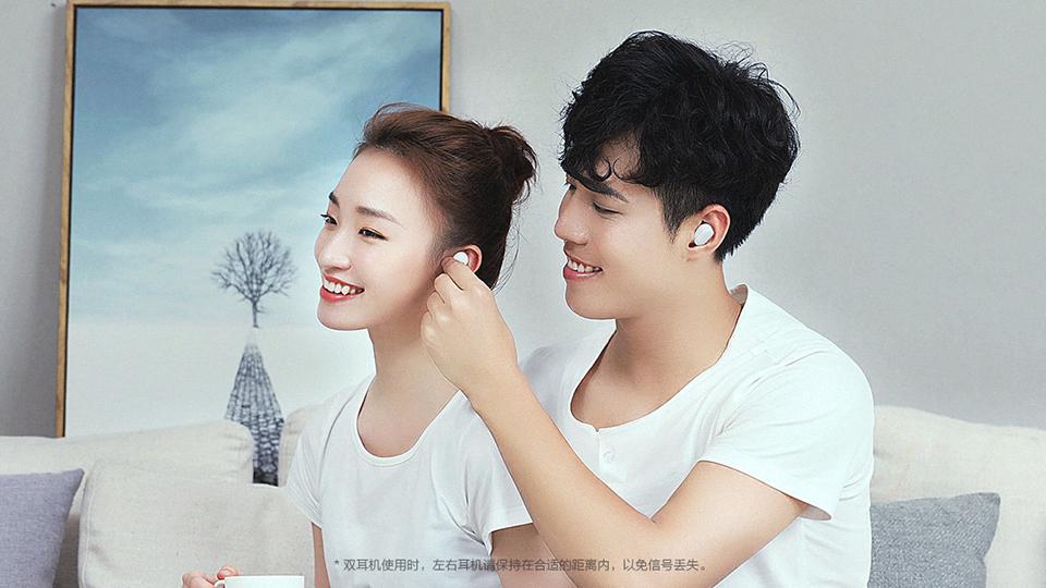 comprar Auriculares inalámbricos bluetooth Xiaomi AirDots, competencia directa Apple AirPods