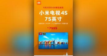 Xiaomi Mi TV 4S de 75 pulgadas