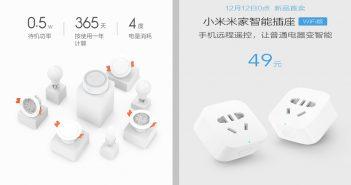 xiaomi yeelight mesh y Mijia smart socket Xiaomi