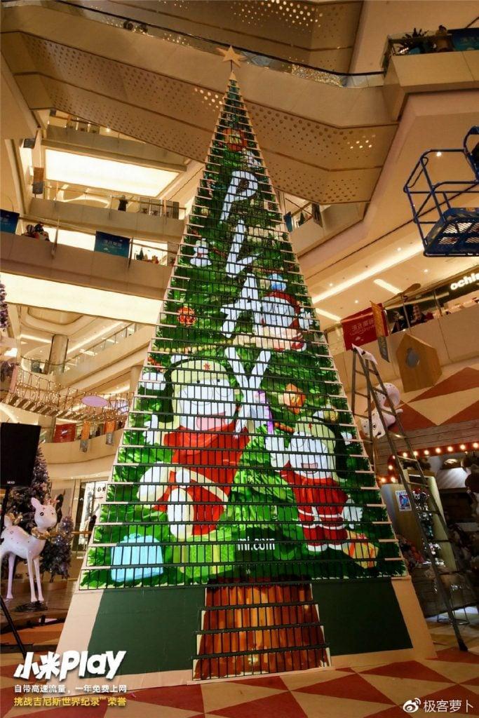 Arbol Navidad con 1005 Xiaomi Play Lin Bin