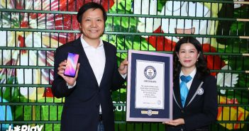 Lin Bin CEO Xiaomi consigue un nuevo Guinness World Record con 1005 Xiaomi Play