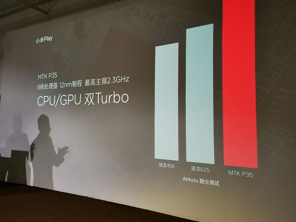 Xiaomi Play con procesador MediaTek Helio P35
