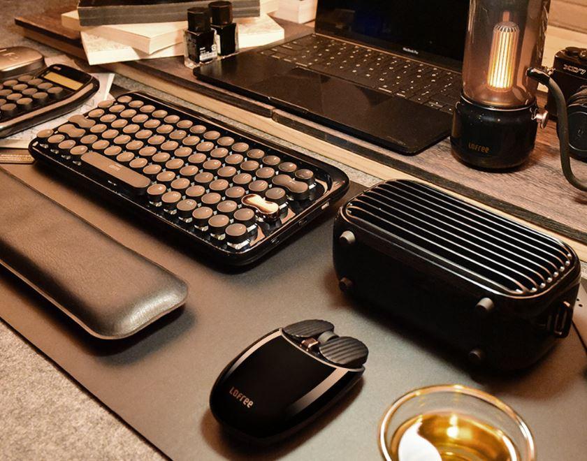 Xiaomi pack de año nuevo retro, teclado, raton, bombilla, altavoz, para la oficina