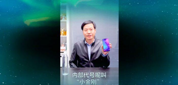 Lei Jun muestra un nuevo video del Redmi Note 7 o Redmi X