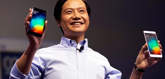 Xiaomi Mi Mix 2s Lei Jun