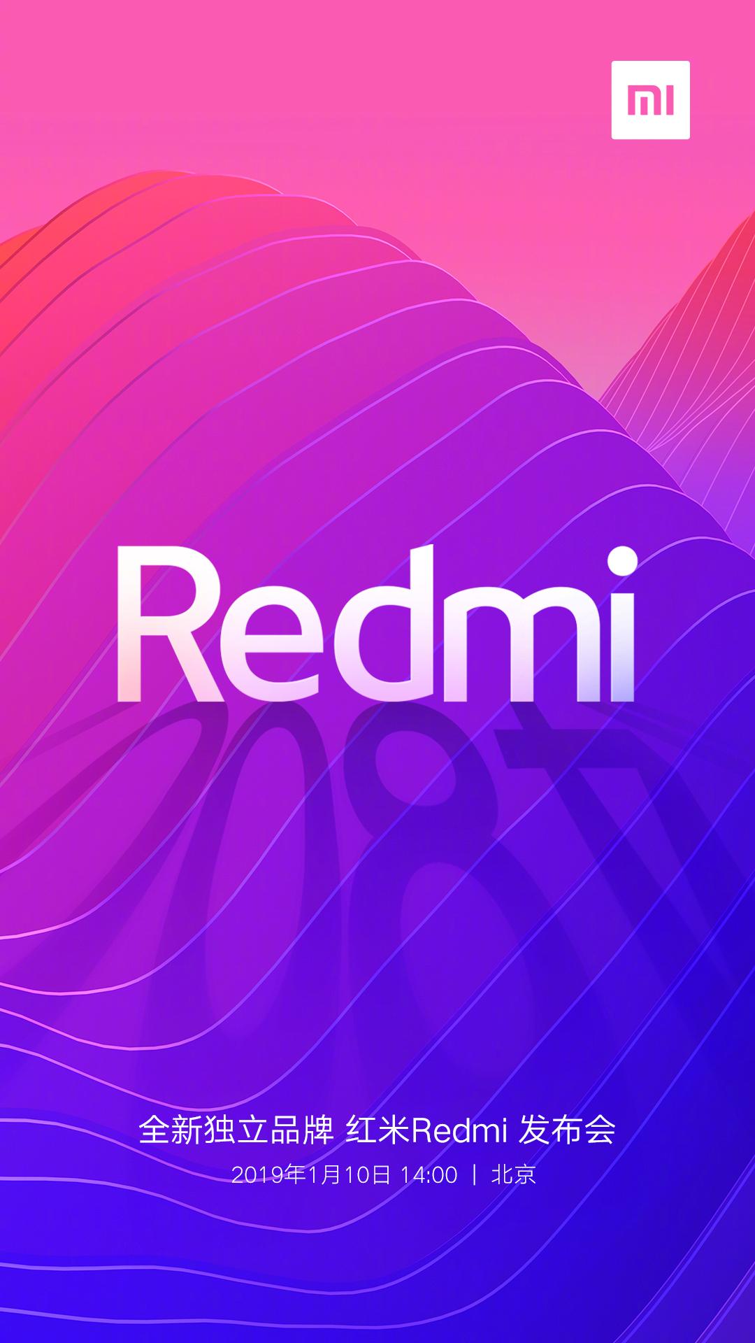 Redmi se convierte en la nueva marca independiente de Xiaomi con 48 megapíxeles