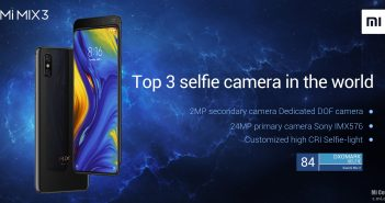 DxOMark Xiaomi Mi Mix 3 tercer mejor cámara selfie Noticias Xiaomi Adictos