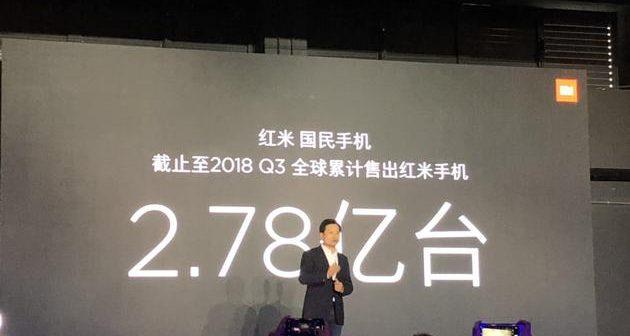 Xiaomi Redmi ha vendido más de 273 millones de smartphones Redmi