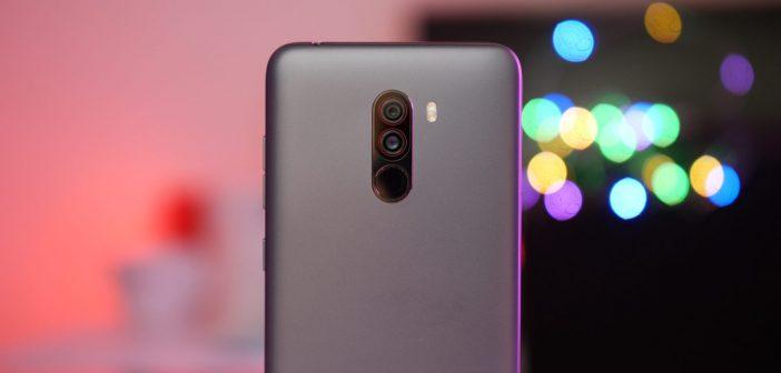 Xiaomi POCOPHONE F1 recibe una nueva actualización con grabación 4K/60fps 4K 60fps