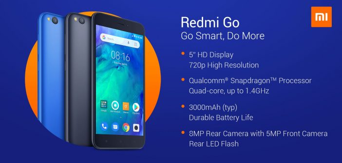 Xiaomi Redmi Go es oficial características y precio