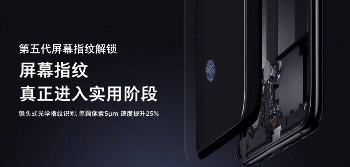 Xiaomi Mi 9 GLOBAL lector de huellas bajo pantalla noticias xiaomi adictos xiaomiadictos