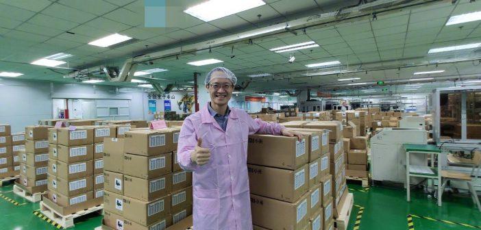 Lin Bin visita la fabrica del Xiaomi Mi 9
