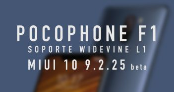 POCOPHONE F1 ya cuenta con soporte Widevine L1 Netflix HD HBO Amazon prime video noticias xiaomi adictos miui 10.9.2.25 beta