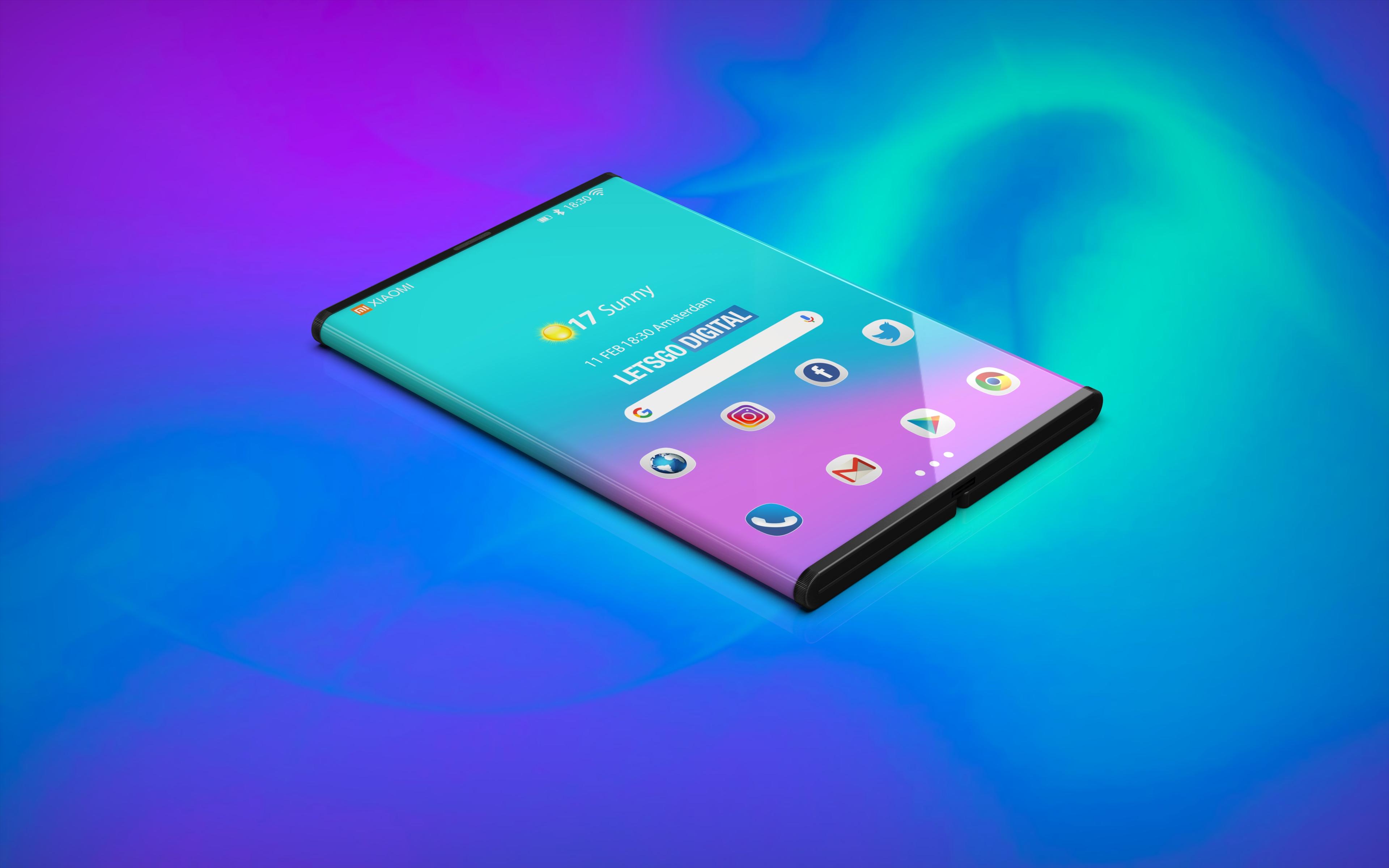 Así sería el smartphone de Samsung que se dobla como tríptico