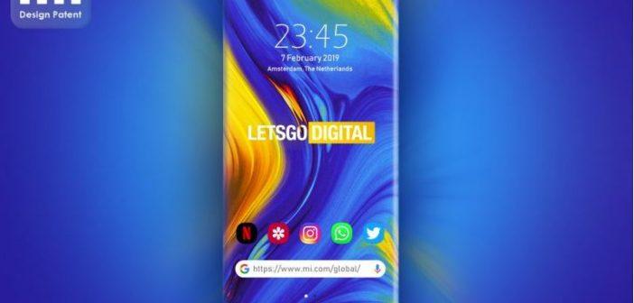 Xiaomi patenta un dispositivo con cuatro bordes redondeados estilo Samsung Edge
