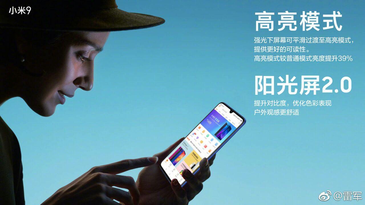 Xiaomi Mi 9 características y precio pantalla amoled corning gorilla glass 6
