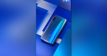 Xiaomi mi 9 características azul degradado colo noticias xiaomi adictos