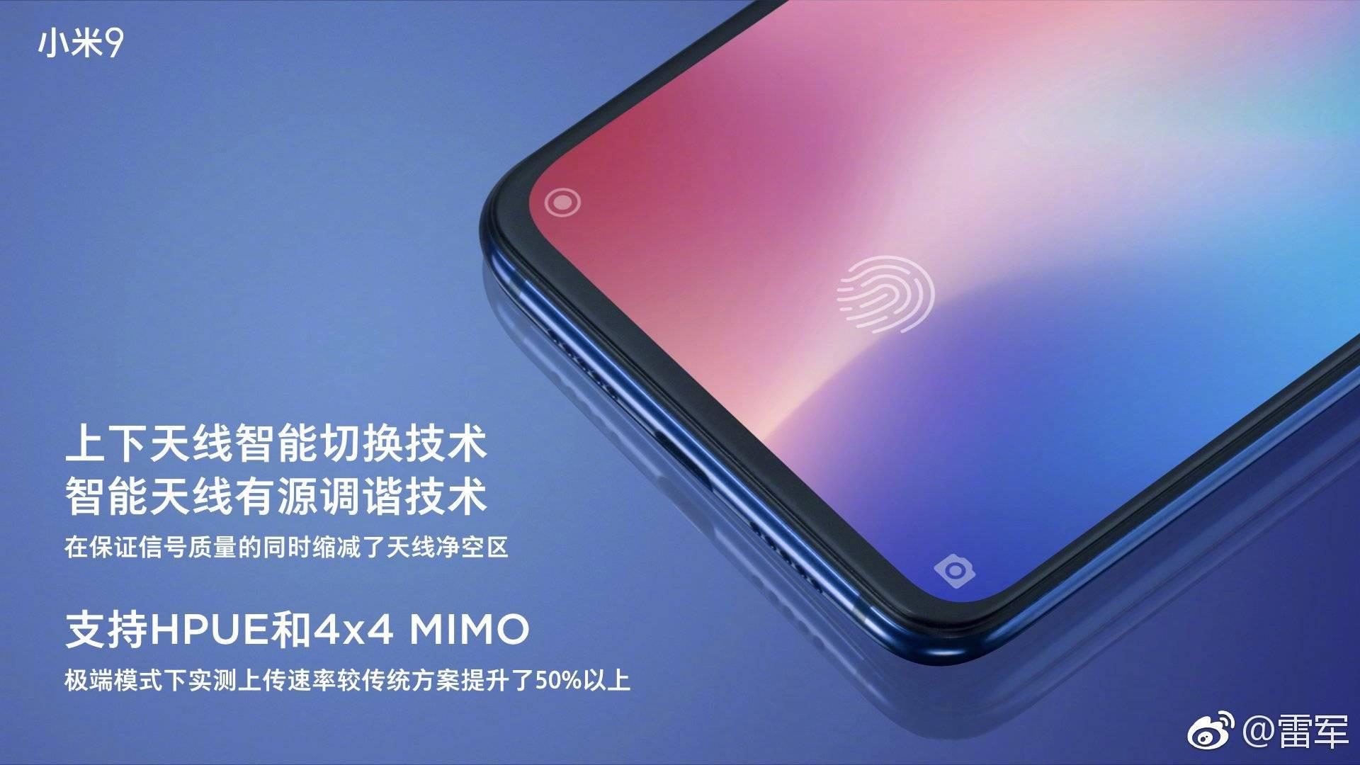Xiaomi Mi 9 contará con mejora de cobertura MIMO 4x4 y HPUE noticias xiaomi adictos xiaomiadictos