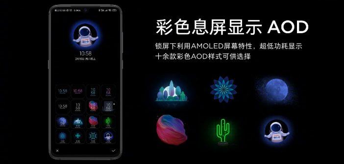 Xiaomi Mi 9 modo oscuro dar mode noticias fondo dinamico