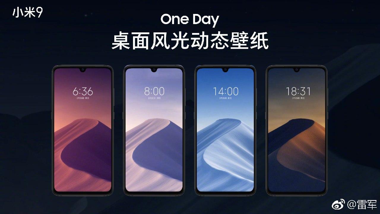 Así Funcionan Los Fondos Dinámicos Del Xiaomi Mi 9 Live