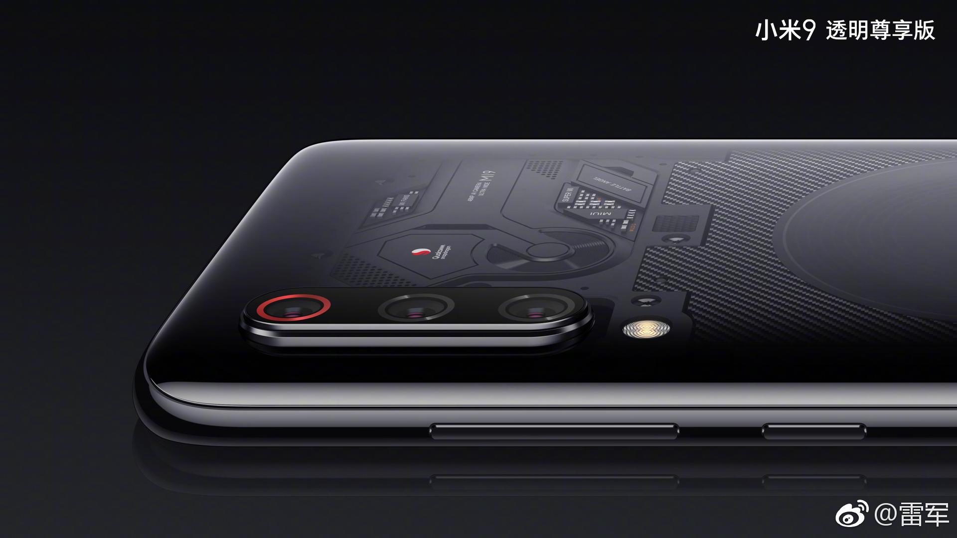 Xiaomi mi 9, cubierta transparente, contará con mejora de cobertura MIMO 4x4 y HPUE noticias xiaomi adictos xiaomiadictos