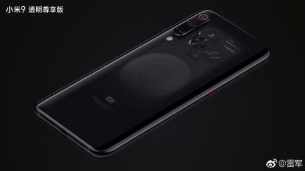 Xiaomi mi 9, cubierta transparente