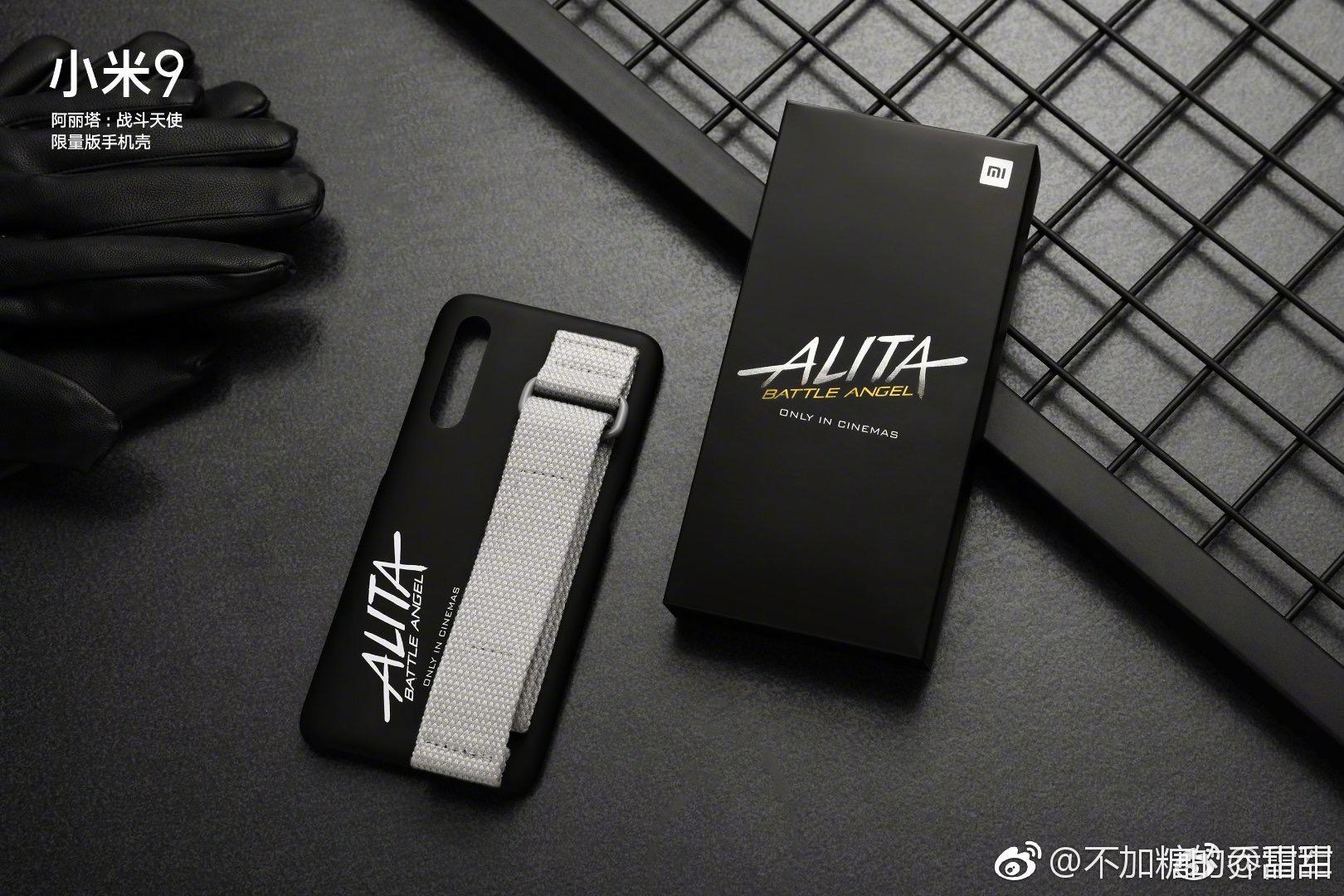 Xiaomi Mi 9 versión pelicula Alita battle angel transparente noticias xiaomi adictos xiaomiadictos