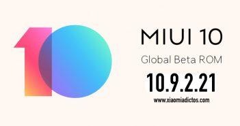 MIUI 10 9.2.21 10.9.2.21 añade reconocimiento facial bloqueo desbloqueo aplicaciones noticias xiaomi adictos xiaomiadictos