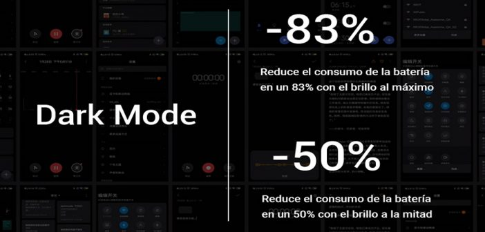 Modo Oscuro MIUI 10 Xiaomi Mi 9 Dark Mode noticias xiaomi adictos