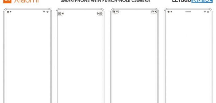 Xiaomi patenta un nuevo dispositivo movil smartphone con cámara incrustada en pantalla