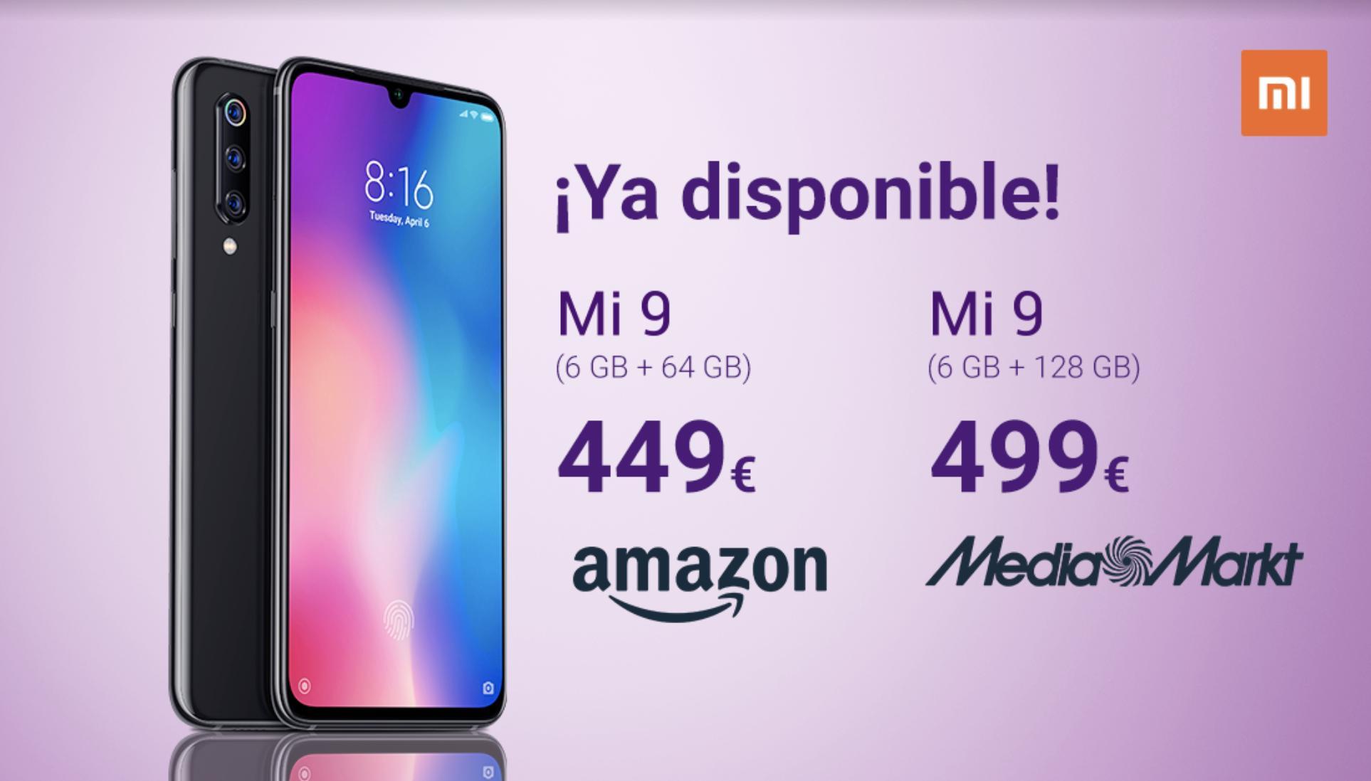 Comprar Xiaomi Mi 9 GLOBAL mi.com amazon mediamarkt noticias xiaomi adictos xiaomiadictos