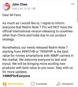 Comprar Redmi Note 7 Pro