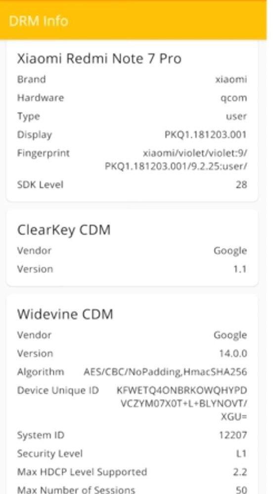 Redmi Note 7 Pro GLOBAL características Widevine L1 Netflix HD noticias xiaomi adictos