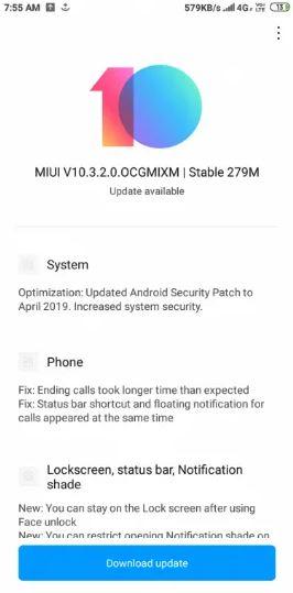 MIUI 10 3.2.0.OCGMIXM redmi 6 y remid 6a xiaomi. Noticias Xiaomi Adictos