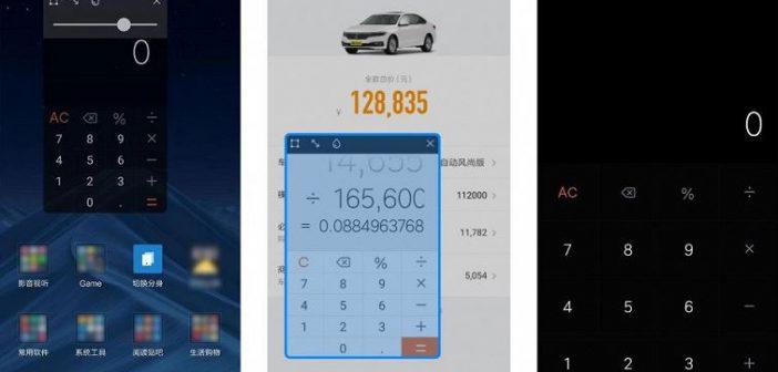 MIUI 10 v9.4.16 beta cerrada añade aplicación calculadora flotante. Noticias Xiaomi Adictos