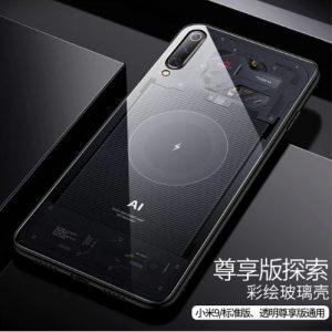 Funda protectora Xiaomi Mi 9 con efecto Transparent Edition y cristal templado. Noticias Xiaomi Adictos