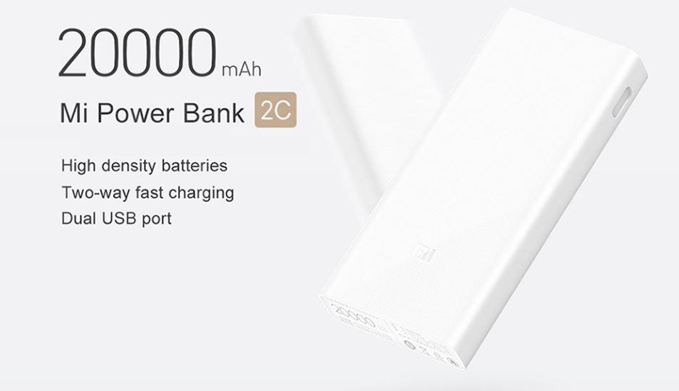 comprar Xiaomi Mi Power Bank 2C 20.000mAh al mejor precio. Noticias Xiaomi Adictos