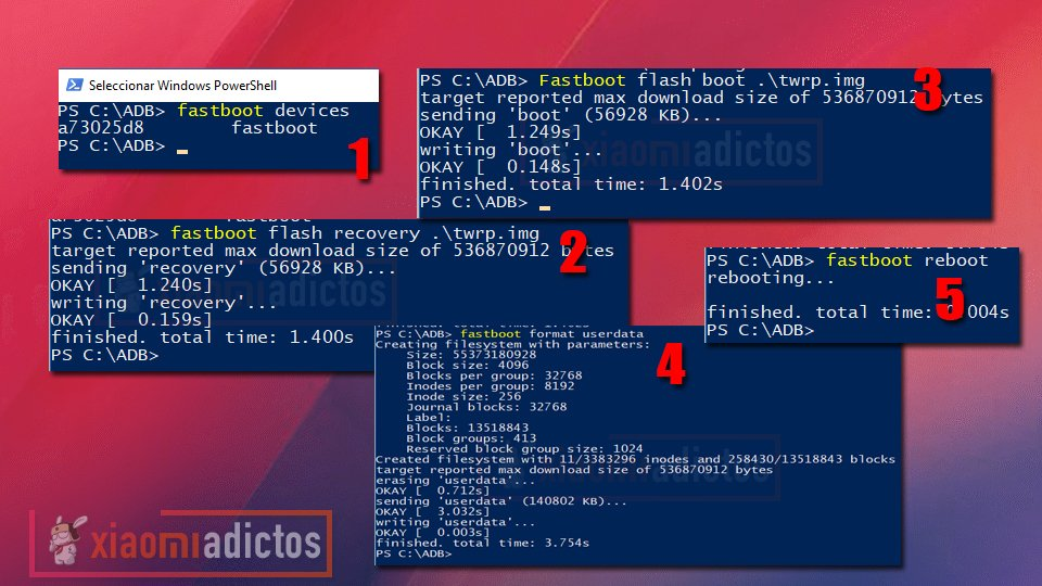 instalar recovery twrp xiaomi noticias adictos bootloader rom flash flashear