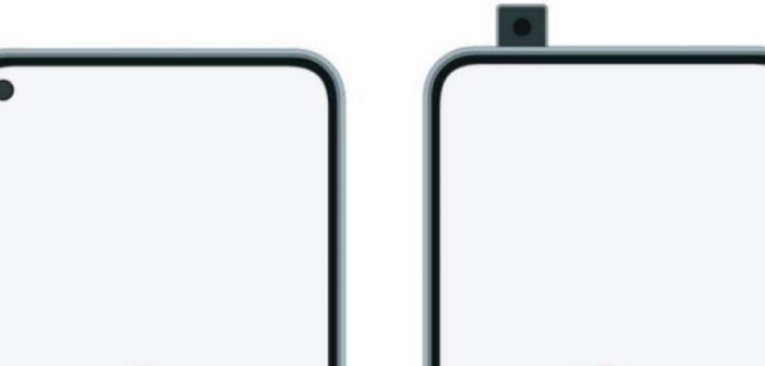 Posible diseño del nuevo buque insignia de Redmi, cámara retractil o incrustada. Xiaomi Adictos Noticias.