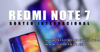 Sorteo internacional de un Redmi Note 7 gratuito. Noticias Xiaomi Adictos