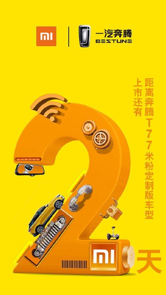 xiaomi presenta su propio coche automovil vehiculo carro bestune t77 noticias xiaomi adictos