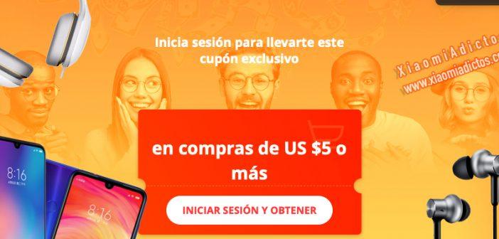 cupón descuento Aliexpress productos Xiaomi mayo promoción ofertas noticias
