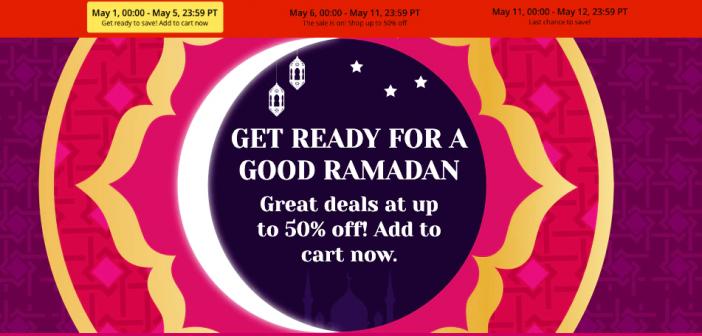 Nuevos cupones descuento AliExpress Ramadan de 20, 25 y 30$ descuento en compras superiores a 120$. Noticias Xiaomi Adictos.