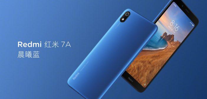 Redmi 7A by Xiaomi. Características, especificaciones y precio. Noticias Xiaomi Adictos