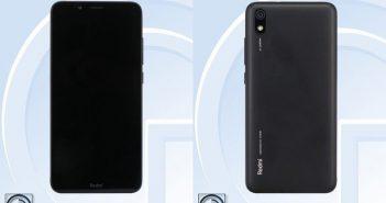 Redmi 7A es visto en TENAA, características y especificaciones. Noticias Xiaomi Adictos
