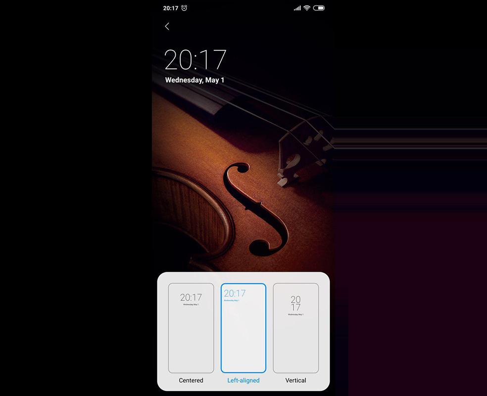 Nuevas funcionalidades que llegan a MIUI 10 9.5.1. Reloj widgets. Noticias Xiaomi Adictos