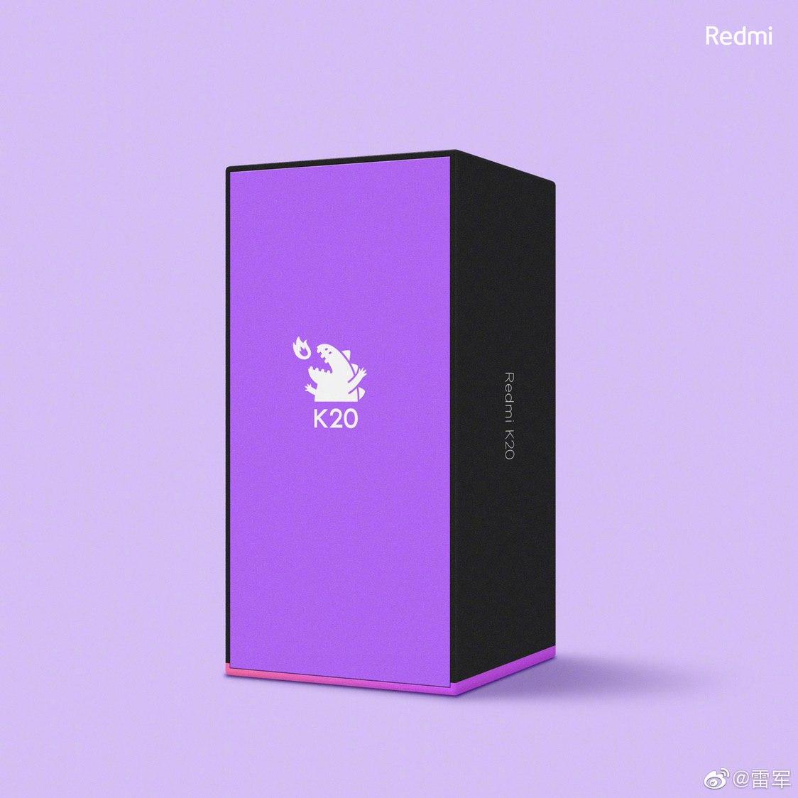 Diseño de la caja del Redmi K20.  Noticias Xiaomi Adictos