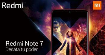 Redmi Note 7 de X-Men: Dark Phoenix. Noticias Xiaomi Adictos