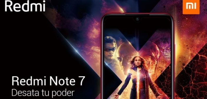 Redmi Note 7 de X-Men: Dark Phoenix. Noticias Xiaomi Adictos